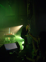 Tom Chaplin at the Tower