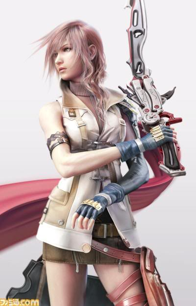 lightning final fantasy. Lightning has long