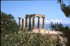 Il tempio di Apollo, Corinto