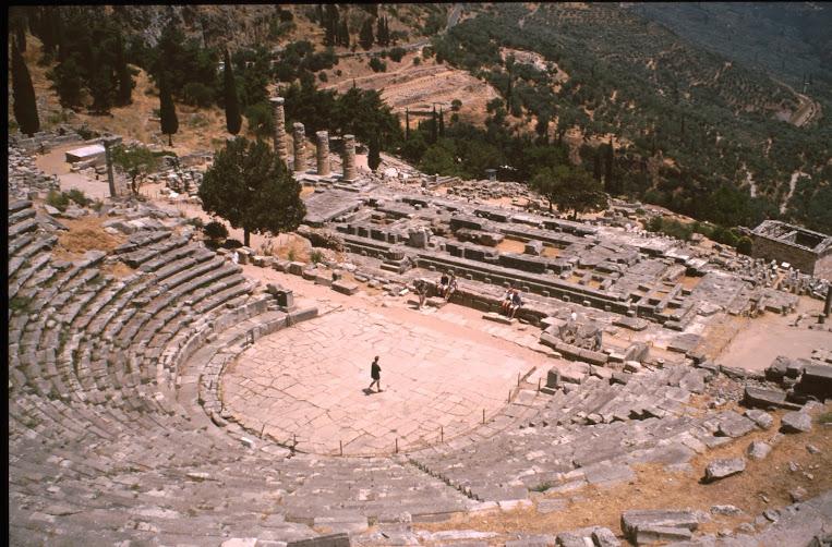 Il santuario di Delfi