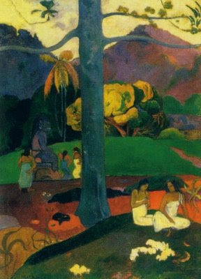 """""""Mata Mua"""", Paul Gauguin, Mónica López Bordón, poesía, editorial Playa de Ákaba"""