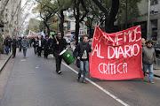 Blog de los trabajadores del Diario Crítica de la Argentina marcha critica cabral