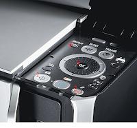 Eteindre l'imprimante. Appuyer sur les boutons N°1 + 2 + 3 et 4 sans