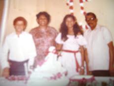 Javier Jimenez y su familia