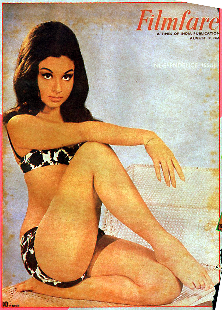 Sharmila Tagore Bikini Shoot For Filmfare