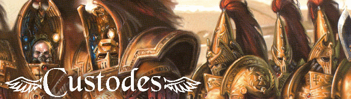 Custodes 40k