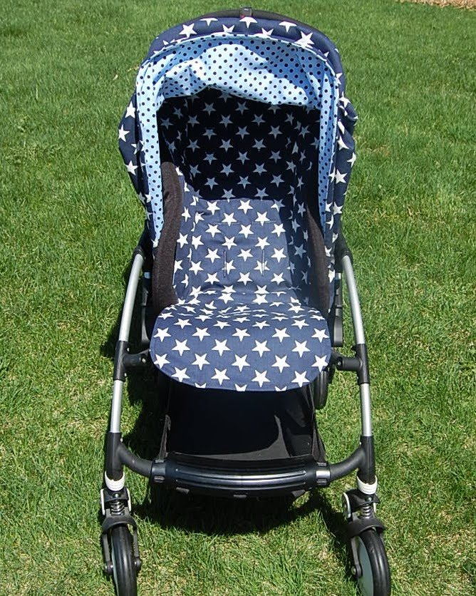 Custom Bugaboo Bee Canopy u0026 Full Seat Liner & Maine Baby Treats - Custom Bugaboo Stroller Covers: Custom Bugaboo ...