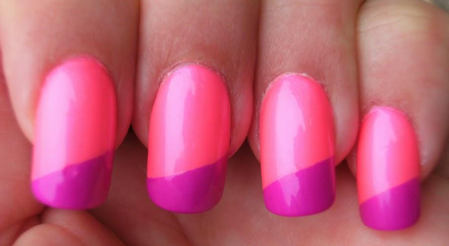Deez Nailz: ♥ Billie \'Electric Purple\' & Billie \'Electric Pink\'♥