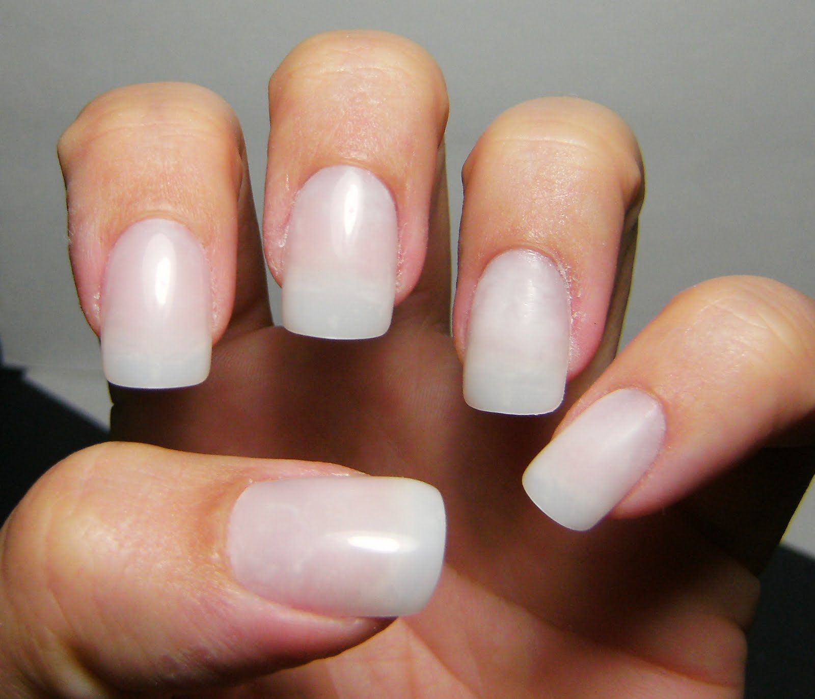 After Lication Of Artifical Nails