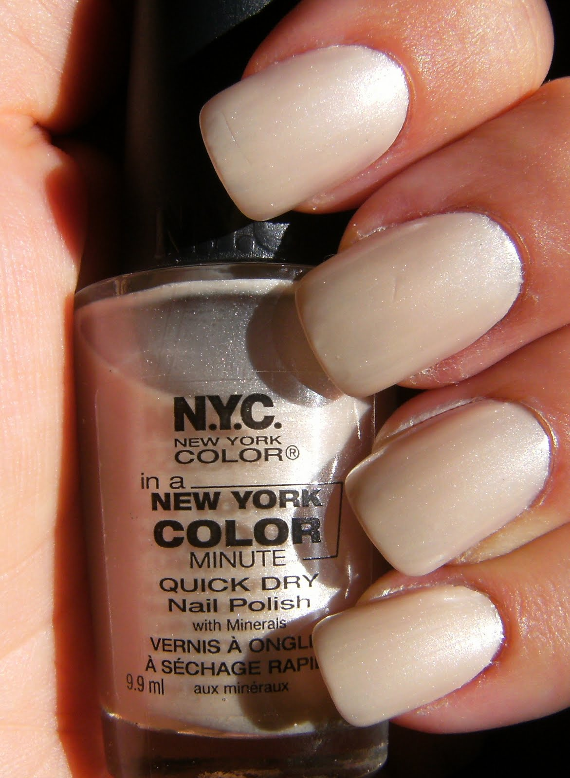 Deez Nailz: NYC New York Color Spam