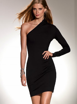 Shoulder Long Sleeve Dress on One Shoulder Dress  69 00 Sale Victoria S Secret