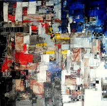 La création d'Adam - 100 x 100 cm - 2010