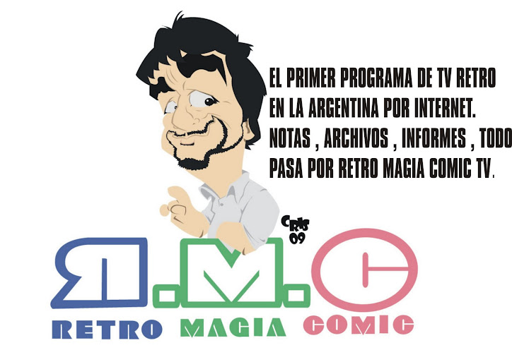 RETRO MAGIA COMIC TV