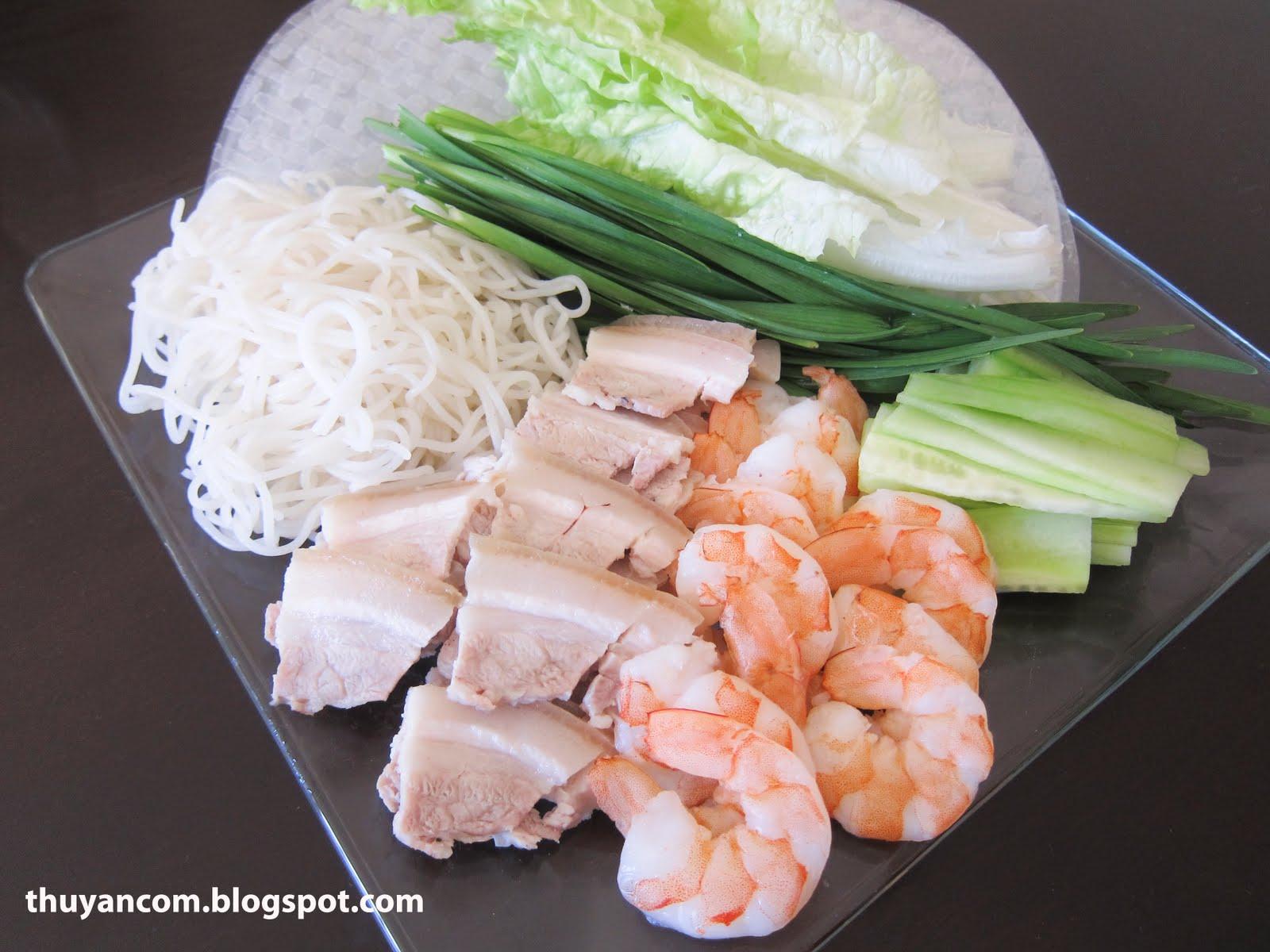 ... Noodles: Goi Cuon Thit Ba Roi - Vietnamese Summer Roll w/ Pork Belly