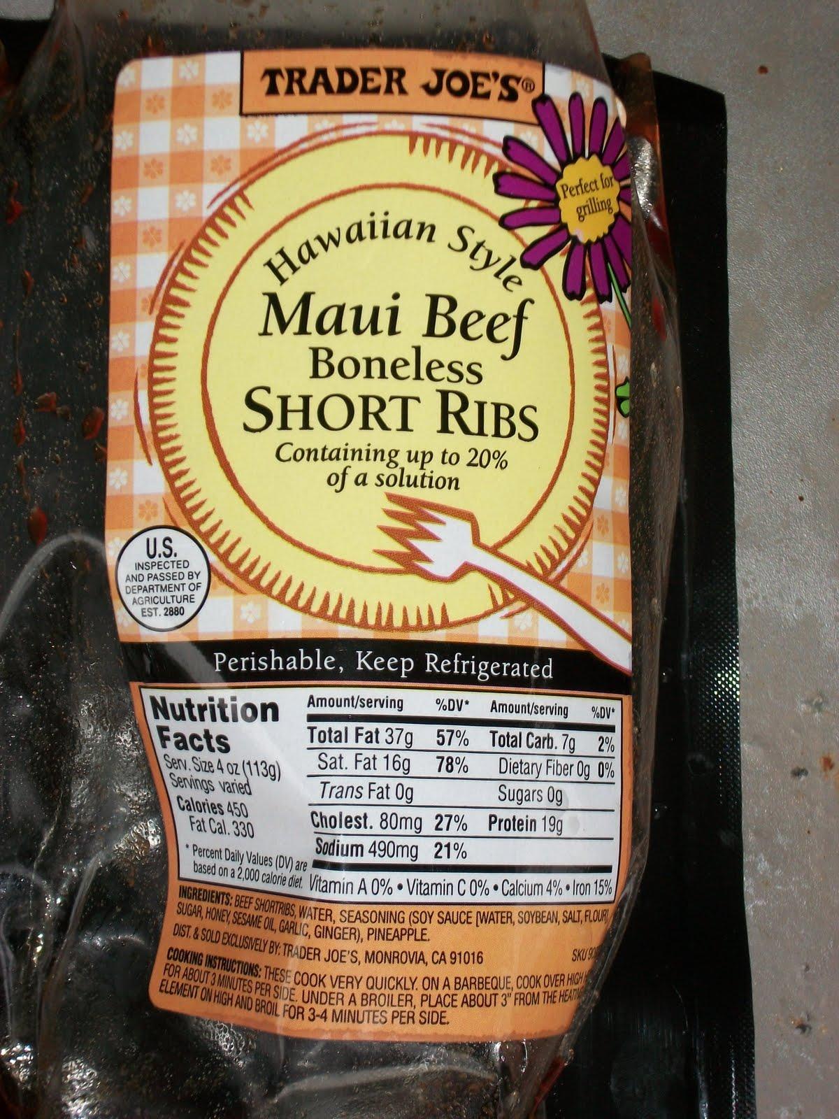 ... com and their hawaiian style maui beef boneless short ribs the