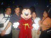 Con Mickey Mouse
