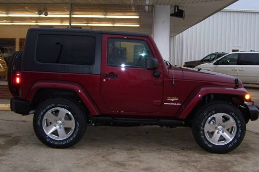 My third jeep, odviously brand new so it's going to be nice.