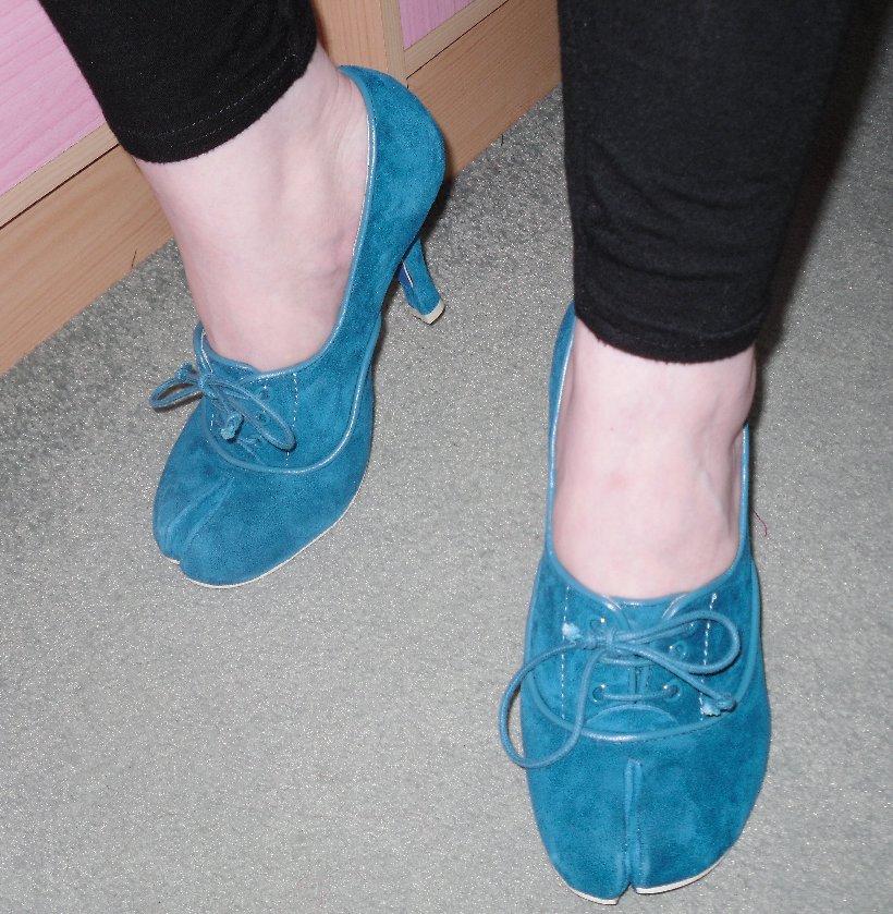 Irregular Choice Split Toe Shoes