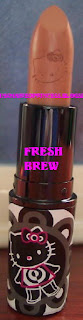mac hello kitty fresh brew lipstick