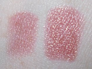 MAC Charismatic lipstick swatches