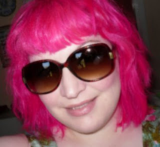 Pink Haired Princess in the sun!