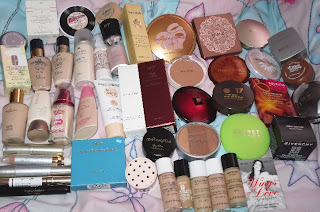 The products I'm keeping