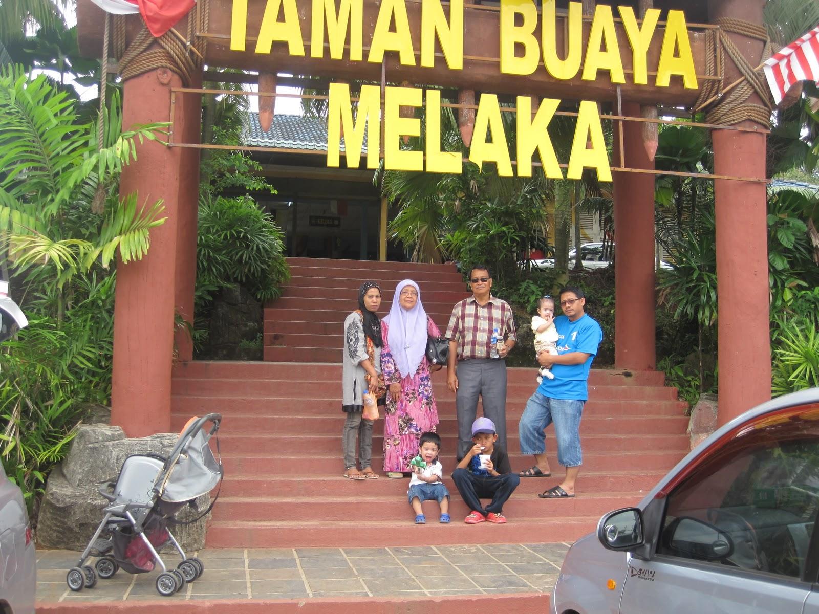 Taman Buaya di Melaka Taman Buaya Melaka tu Kan