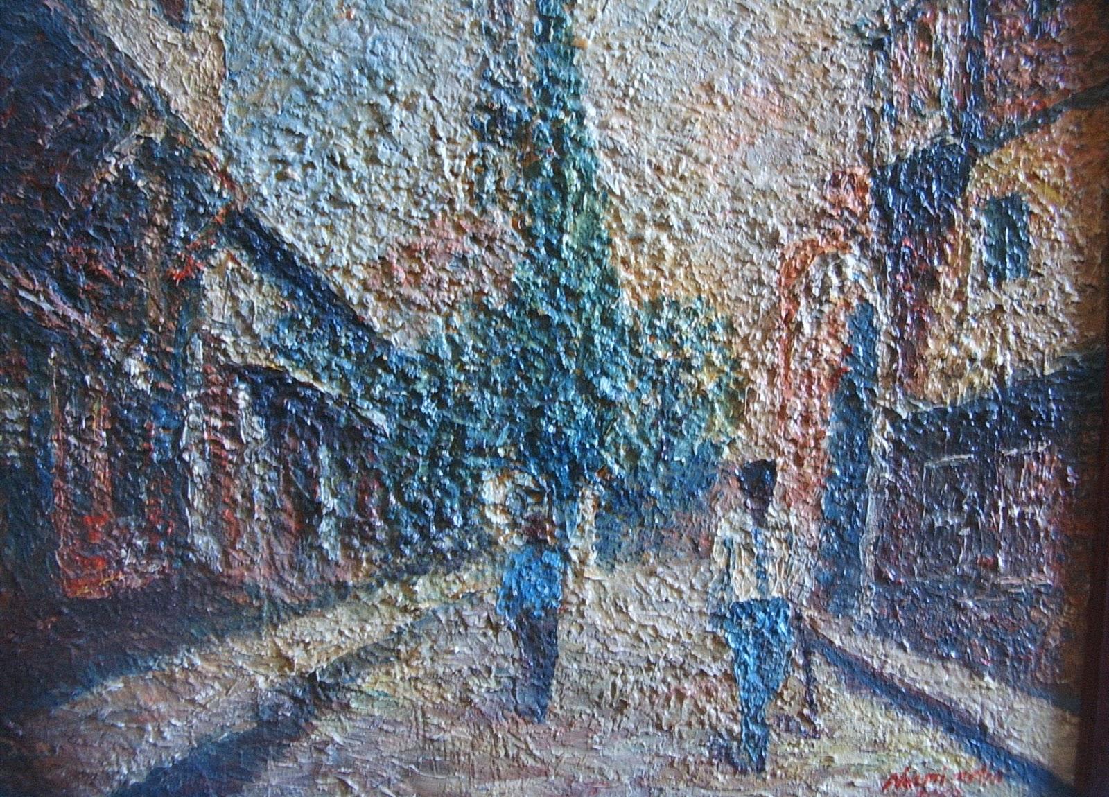 çağdaş Ressamlar Grubu Resimlerim Nazmi Metin
