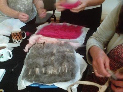 Textile Art Workshops - St Ives Cornwall