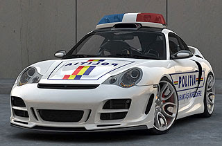Porsche 911 996 Top Art Concept Design by Bogdan Urdea 6