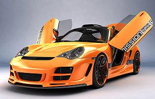 Porsche 911 996 Top Art Concept Design by Bogdan Urdea 2