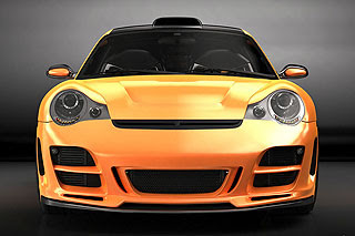 Porsche 911 996 Top Art Concept Design by Bogdan Urdea