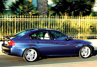2007 Alpina B3 Bi-Turbo based on BMW 335i 2