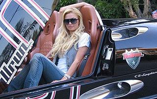 Paris Hilton Drive Spyker