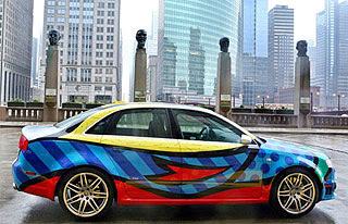 Audi RS4 Art Car  2