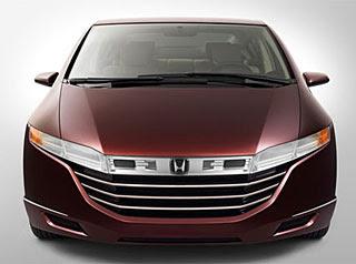 Honda displayed its FCX concept