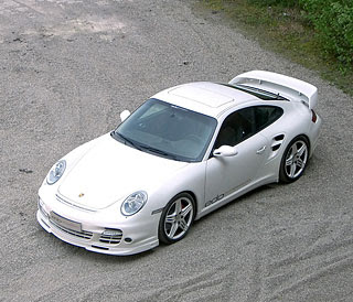 2007 Edo Competition Porsche 997 white Shark 4