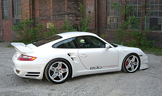 2007 Edo Competition Porsche 997 white Shark 5