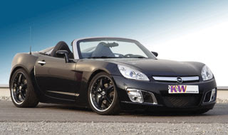 2007 Opel GT with KW Coilover Suspension V3