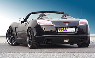 2007 Opel GT with KW Coilover Suspension V3 2