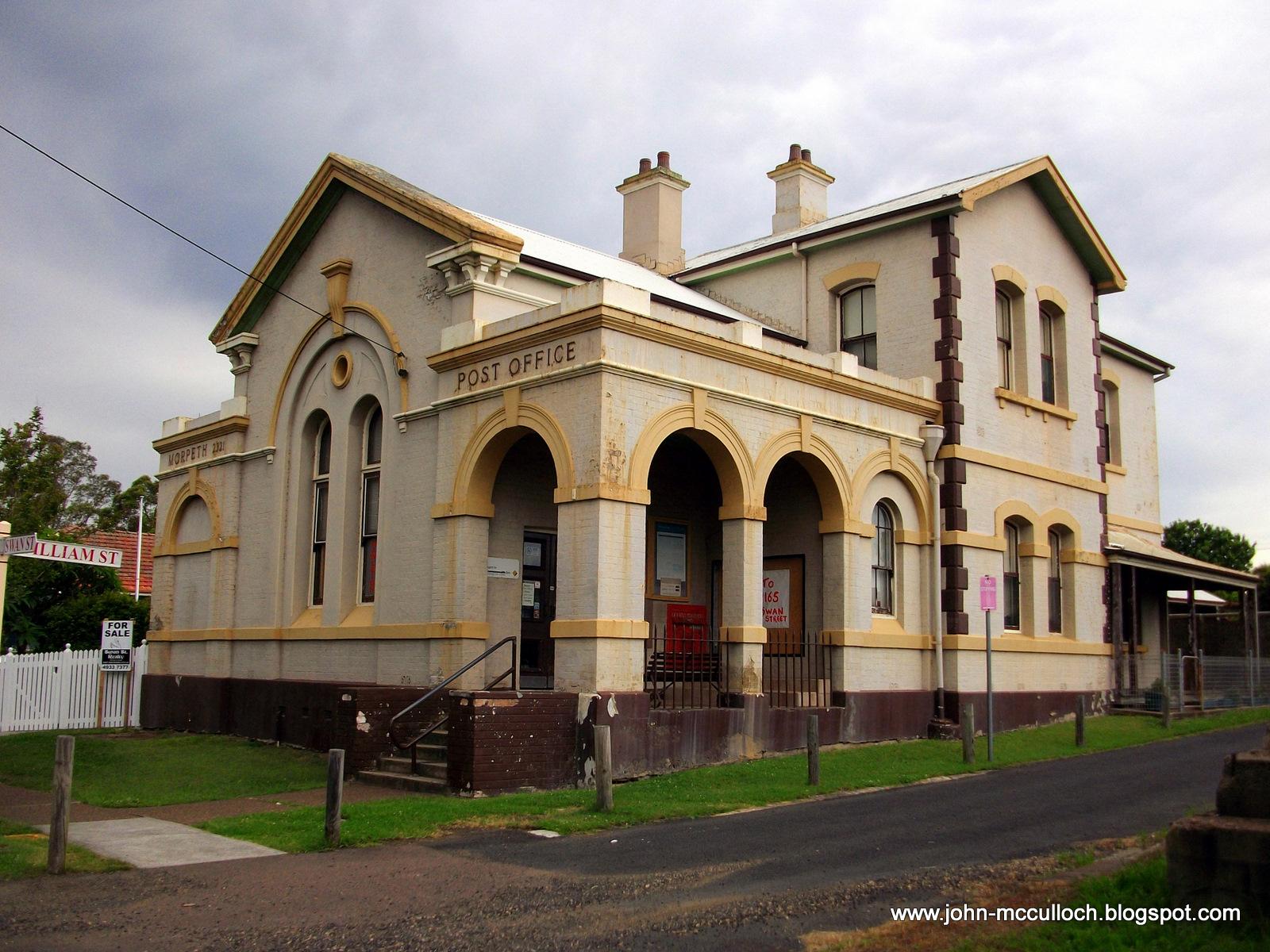 Morpeth Australia  city photos gallery : Thru My Lens: The Lost Post Offices of Australia Morpeth 2321