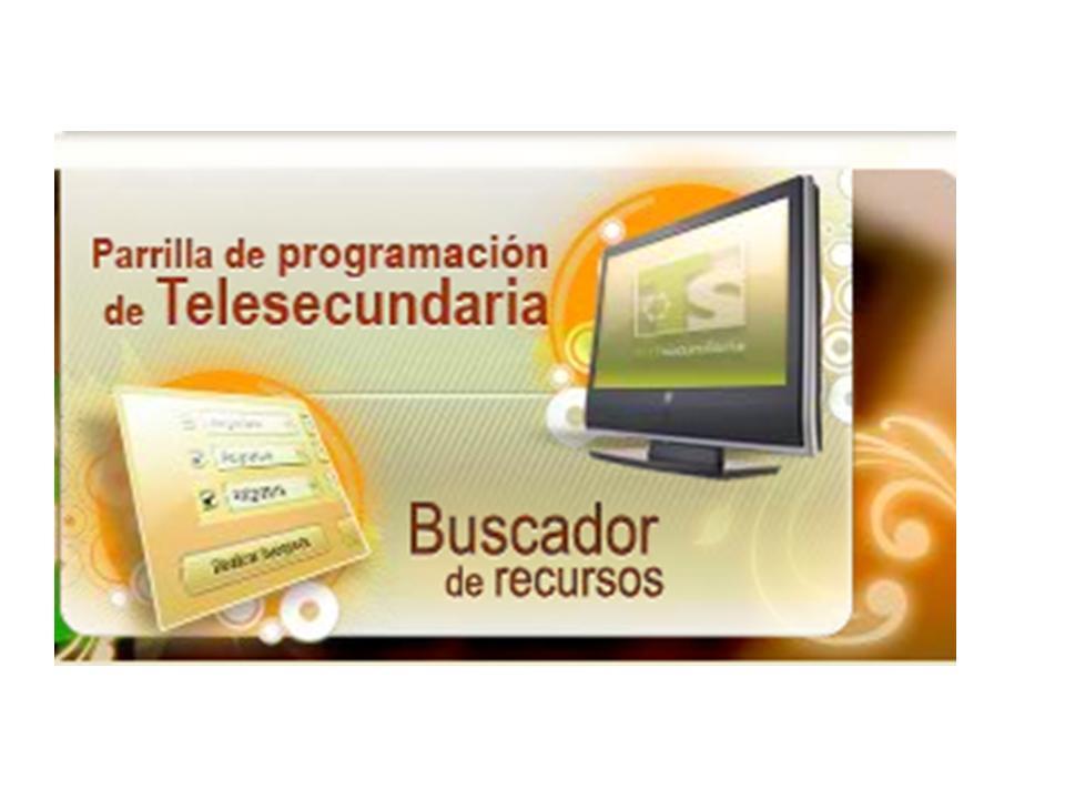 Para bajar la programación de Telesecundaria