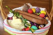 A Traditional Polish Swieconka Easter Basket easter basket