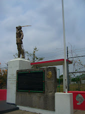 Lateral Estatua del  Coronel Milán