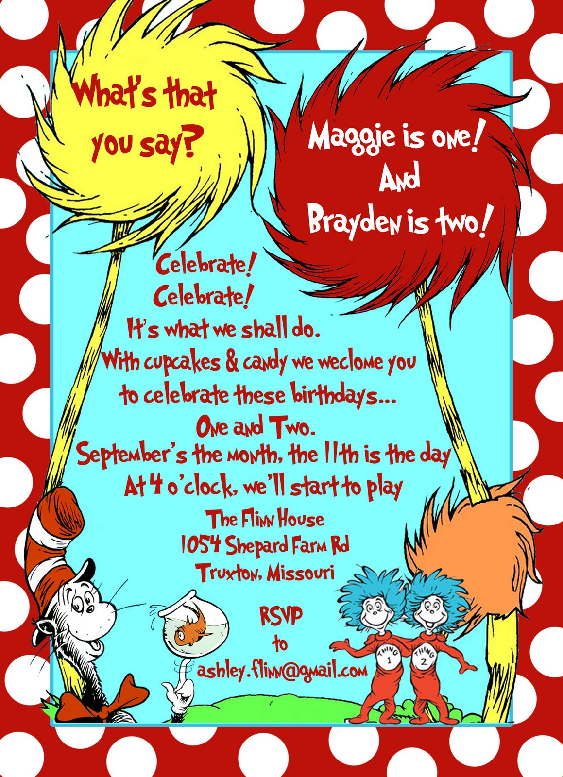 Dr Suess Baby Shower Invitation with perfect invitations sample