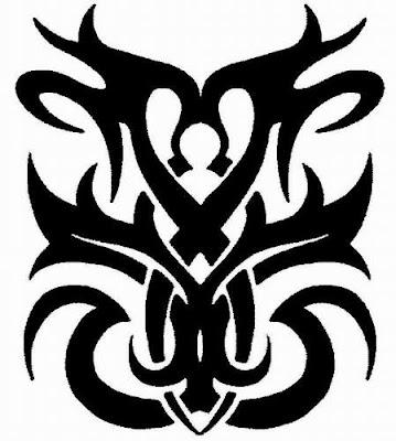 tribal tatuajes. los mejores tatuajes de tribales. Tatuaje Tribal de iguana en brazo