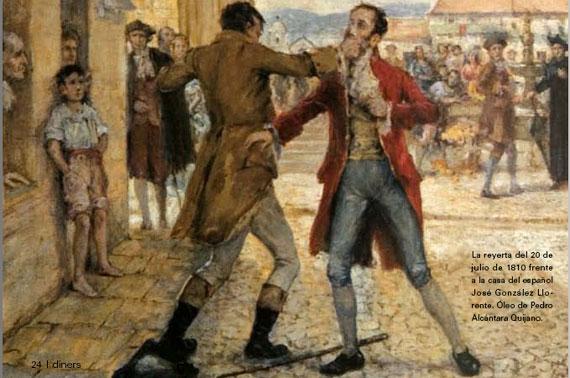 Grito de independencia 20 de julio de 1810 for Jardines 20 de julio bogota