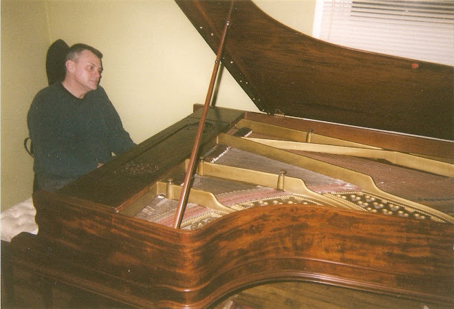 James at the piano