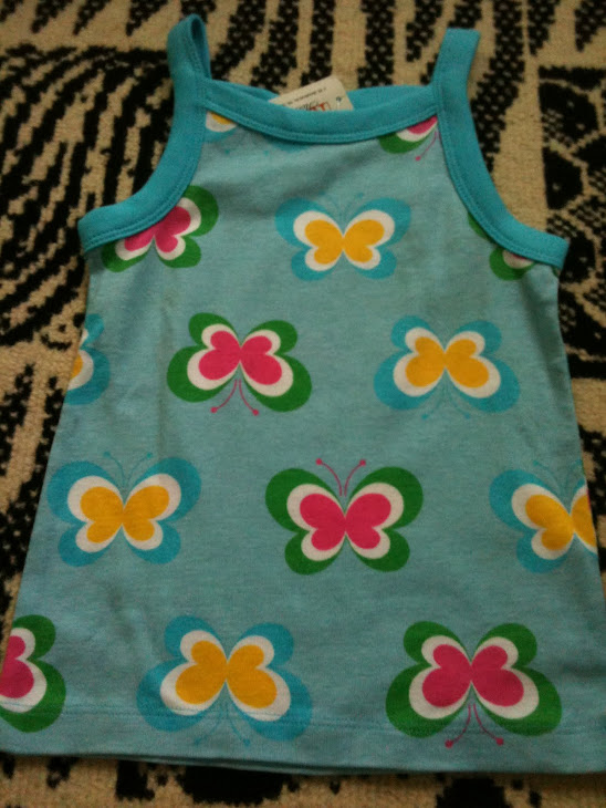 Gap Blue Flowery Sleeveless