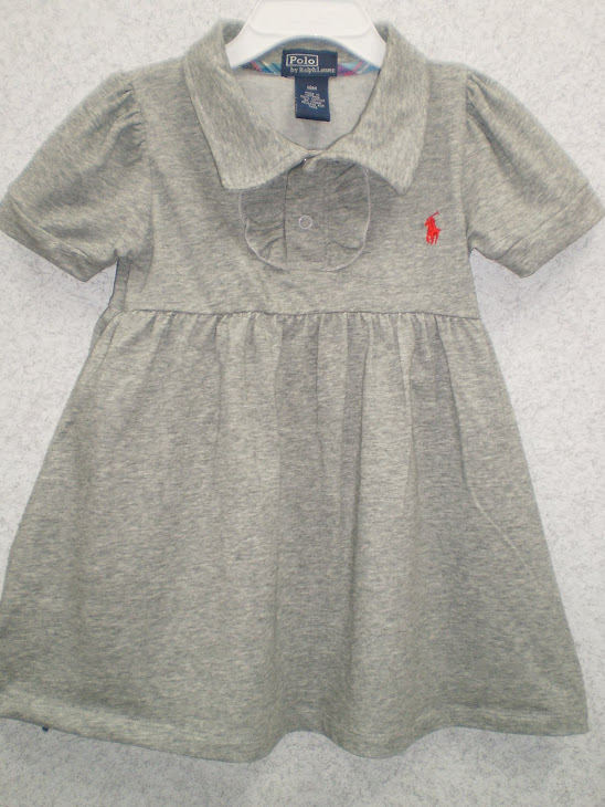 Polo Ralph Lauren Grey Dress  --------- RM18